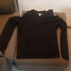 Forever 21 mesh hoodie
